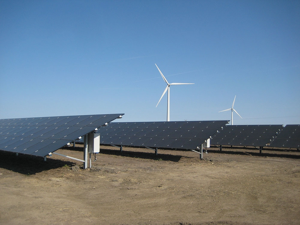 The installation will be the second-largest solar array east of the Mississippi. Image: Invenergy