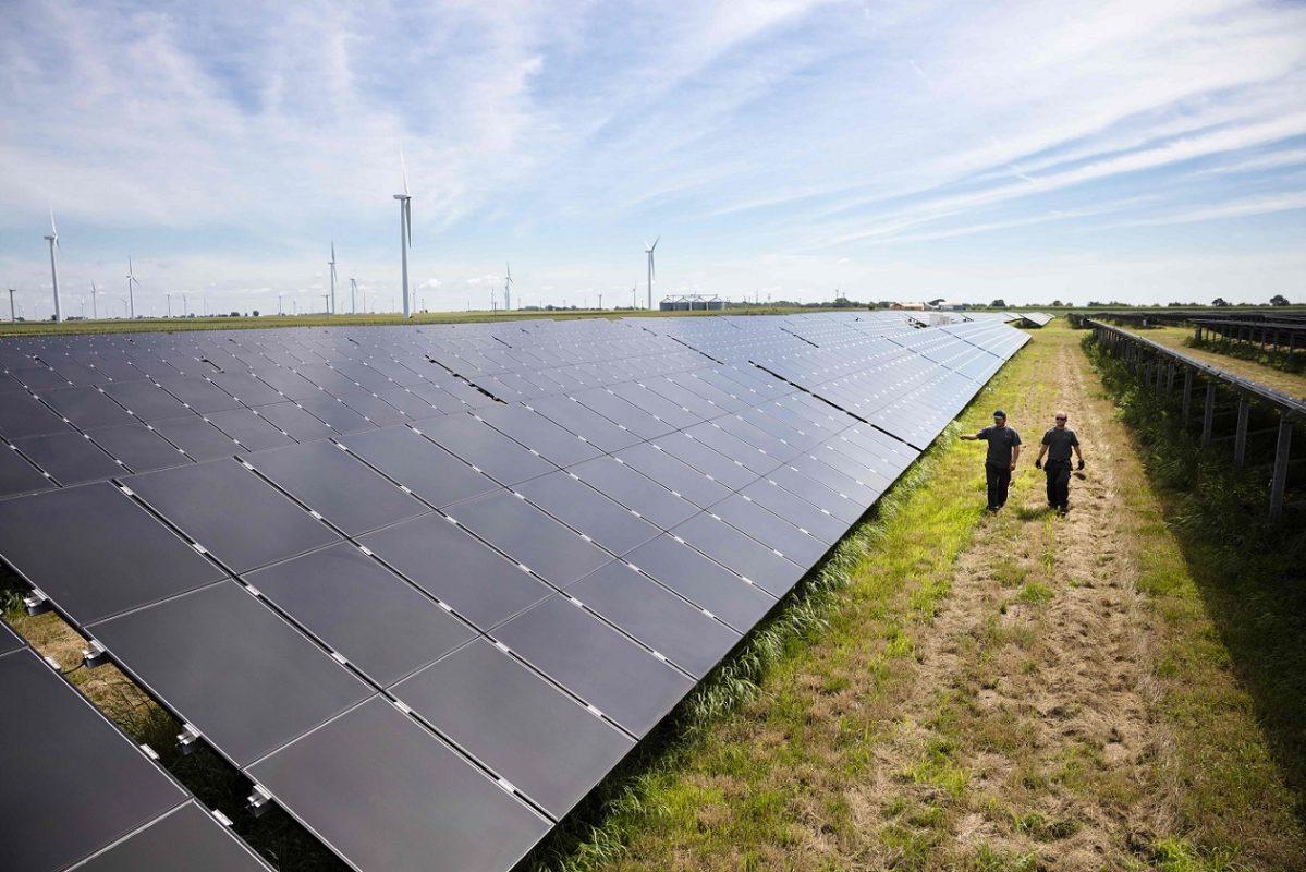Invenergy's Grand Ridge Solar facility in Illinois. Image: Invenergy.