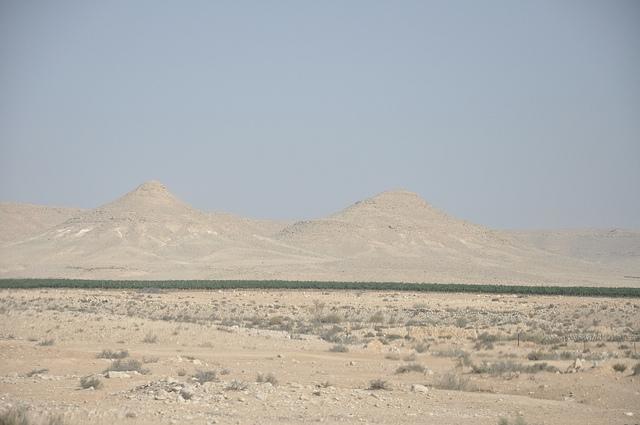 Negev is a semi-desert region of southern Israel. Flickr: Neil Ward