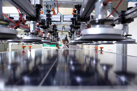 The company has since established solar cell and module assembly production outside China to circumvent anti-dumping duties in the EU and US. Image: JA Solar