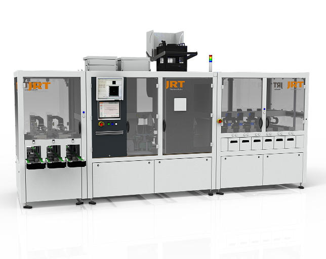 The innovative and gentle material handling concept and high precision measuring systems used are responsible for the consistently high performance. Image: JRT-PV