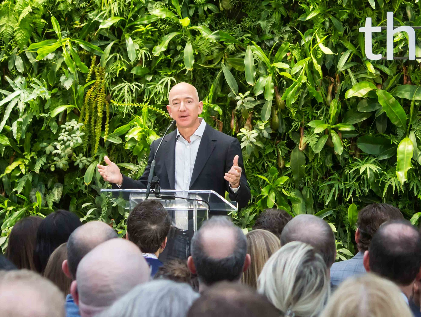 Bezos said the fund would look to invest in  visionary entrepreneurs and innovators