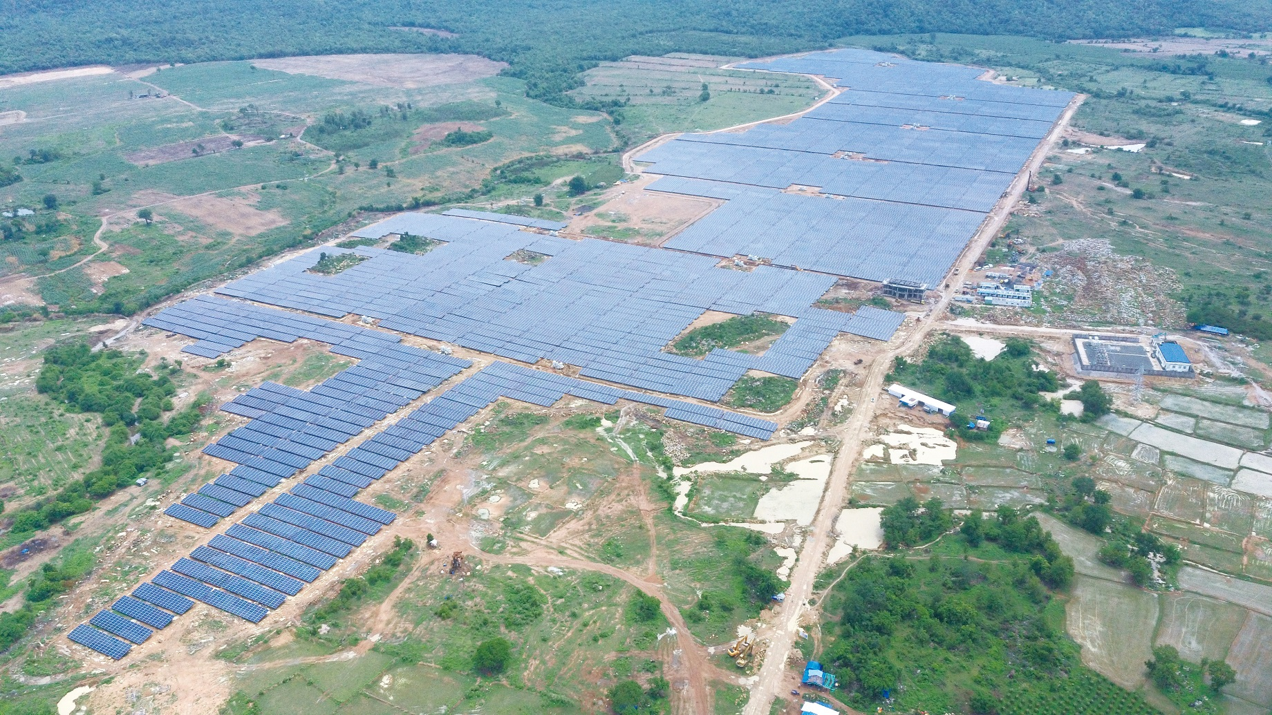 The 50MW Thuan Minh 2 Solar Farm. Source: Jetion.