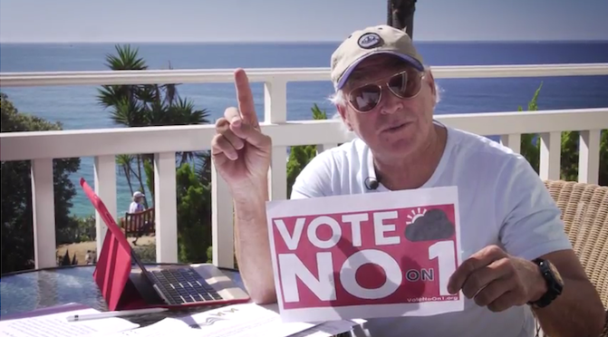 Singer, songwriter, actor and Florida native Jimmy Buffett urges fellow Floridians to vote NO ON 1. Source: Floridians for Solar Choice