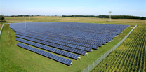 The two PV projects are located in Double Tollgate and Northampton County, Virginia. Image: JinkoSolar