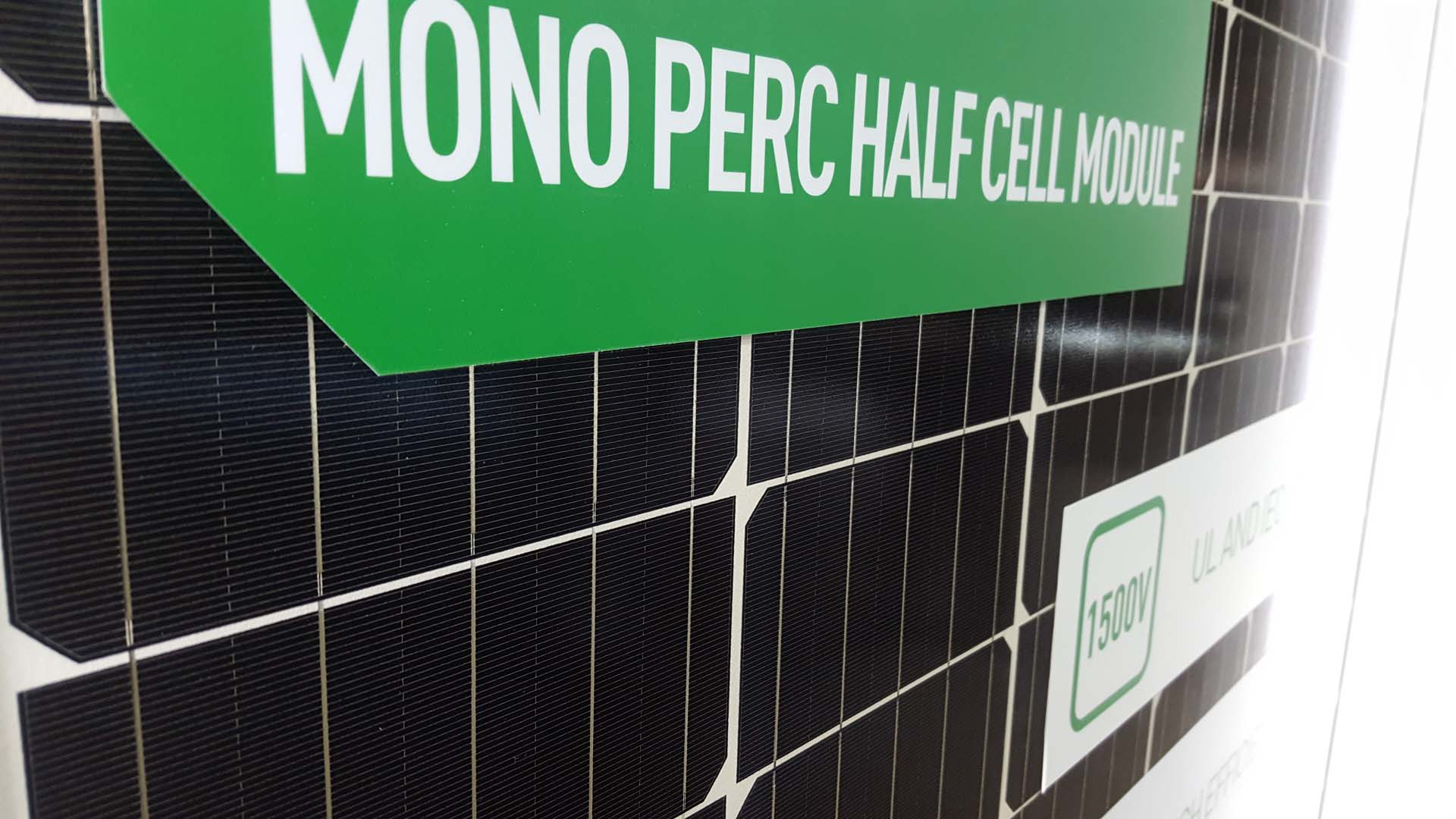 JinkoSolar said it had supplied 10MW of its P-type mono PERC 'Eagle' modules (JKM295M-60) series for a PV power plant project built by Huaneng Renewables in Inner Mongolia,  China. Image: PV Tech