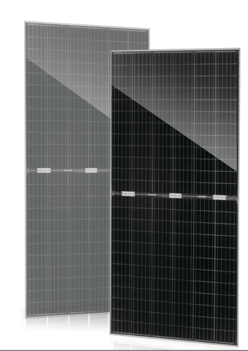 JinkoSolar's Swan bifacial panel features a transparent backsheet provided by DuPont. Image: JinkoSolar.