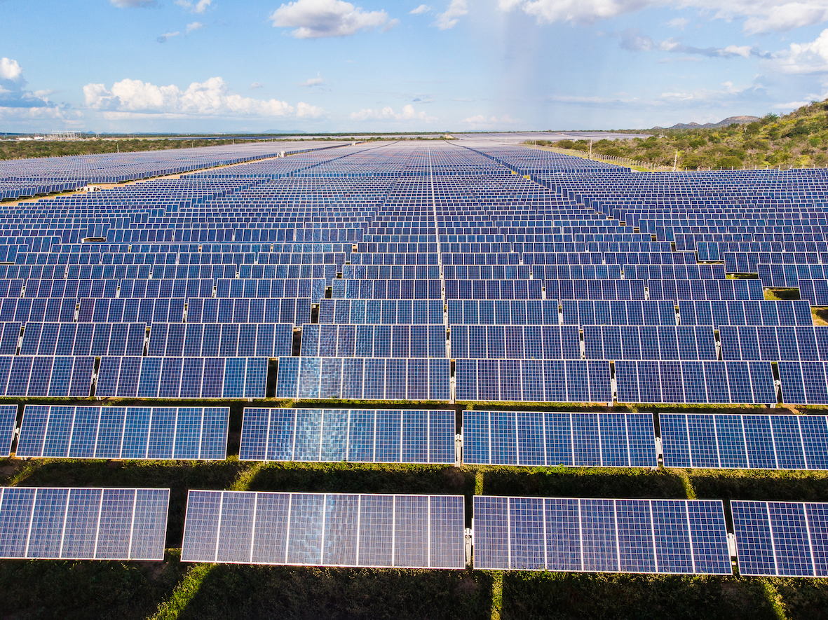 The Juazeiro Solar Plant. Source: Atlas Renewable Energy