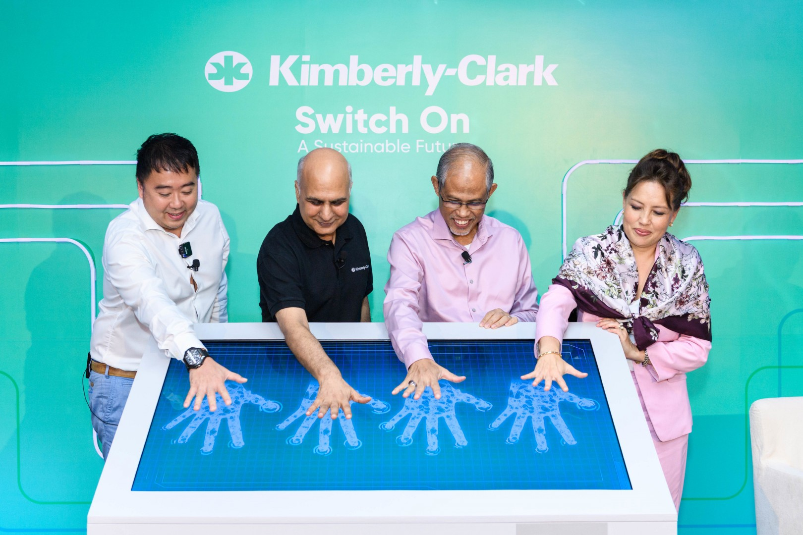 The 3.5GWh rooftop installation built by Sunseap is being touted as one of Singapore's largest (Credit: Kimberly-Clark)