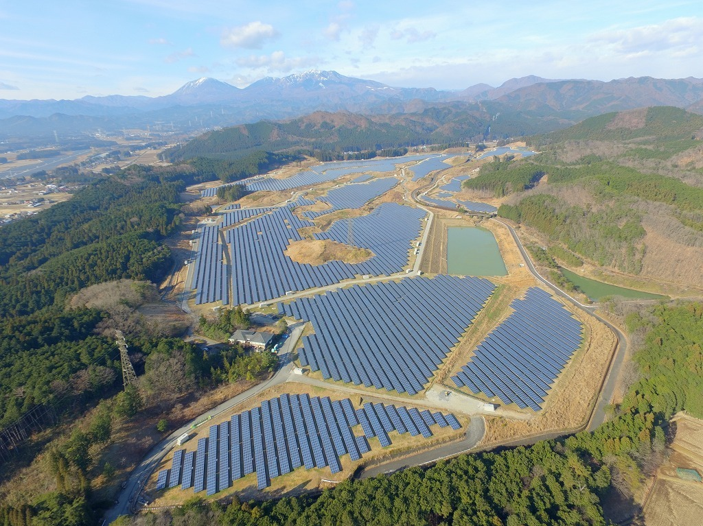 t the same time as this initial closing, the fund completed the acquisition of its first solar plant, a 35MW project located in Tochigi Prefecture. Image: Pacifico Energy