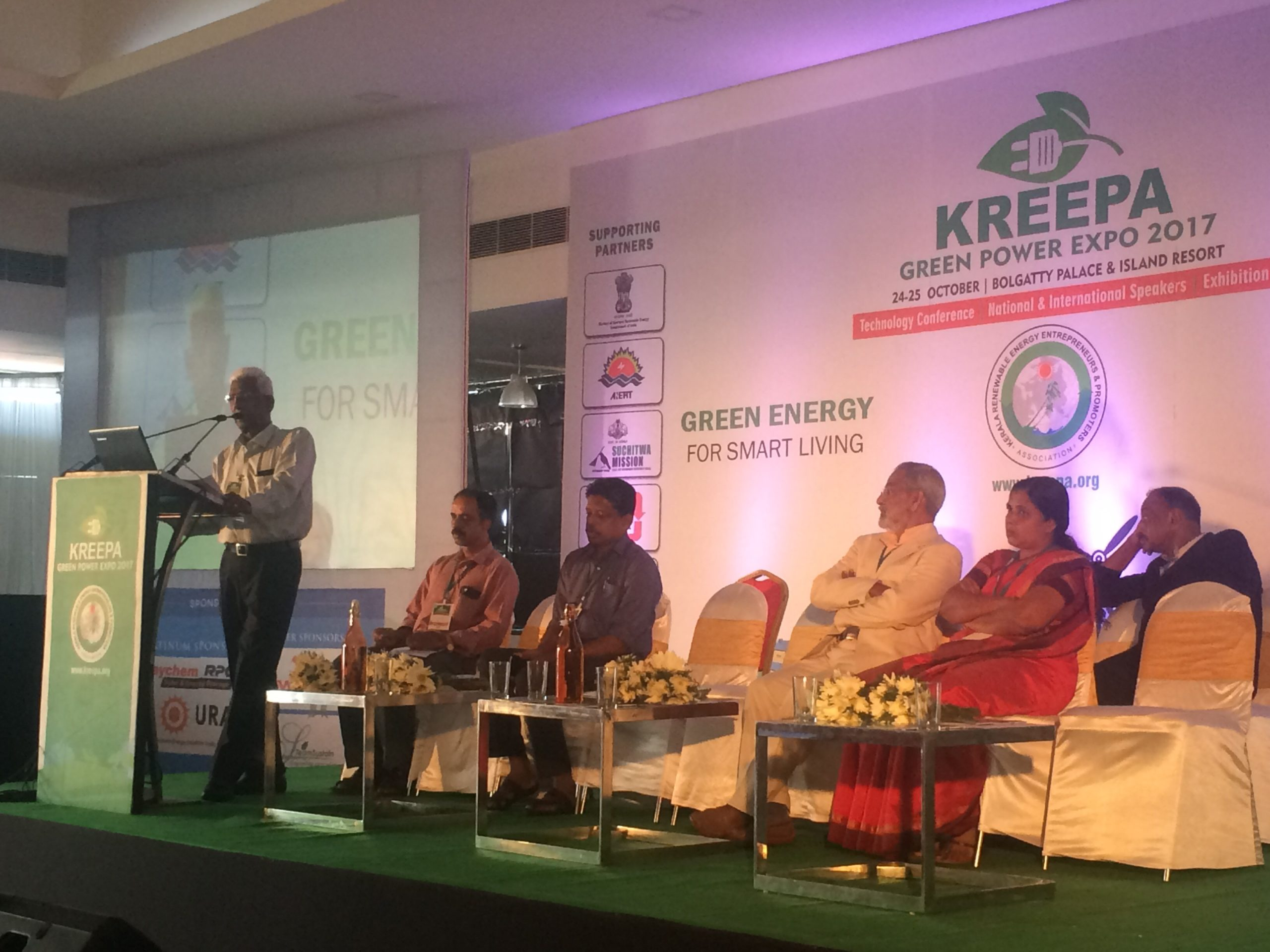 As Kerala was India's first fully electrified state, KREEPA feels that it should aim to be the first state to become fully green powered. Credit: Tom Kenning