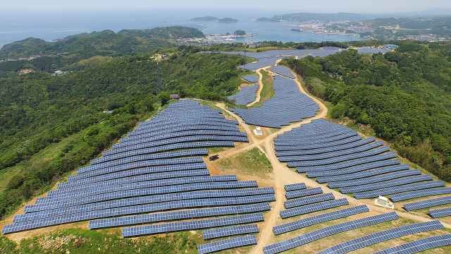 The Shin Mine Project is the fifth solar power plant project run by LG CNS in Japan. Image: LG CNS