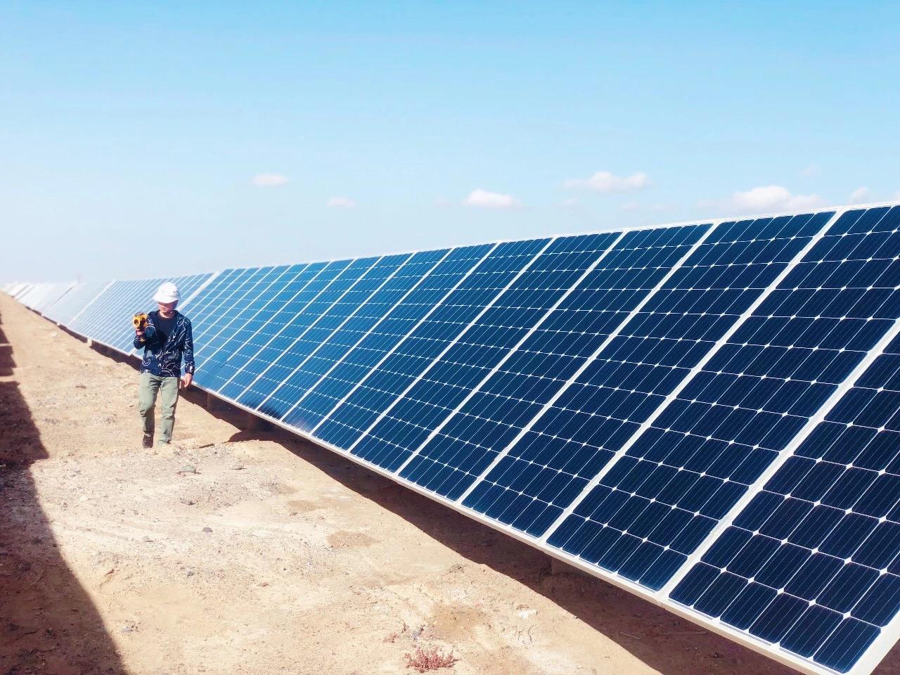 The SMSL said that the project was financed by one of the world's top commercial banks in Japan. Image: LONGi Solar
