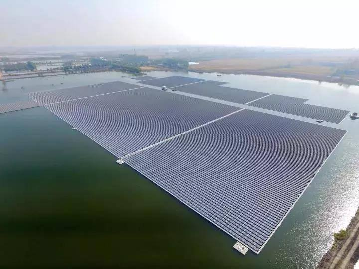 According to China's National Energy Administration (NEA), solar PV installations reached 52.83GW in 2017, up from 34.54GW in 2016. Image: LONGi