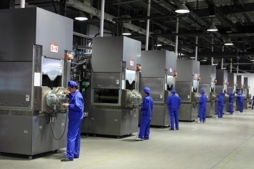 A key driver of polysilicon demand is LONGi, which previously announced in early 2018 that it planned to increase mono ingot and wafer production to 45GW in 2020. Image: LONGi Group