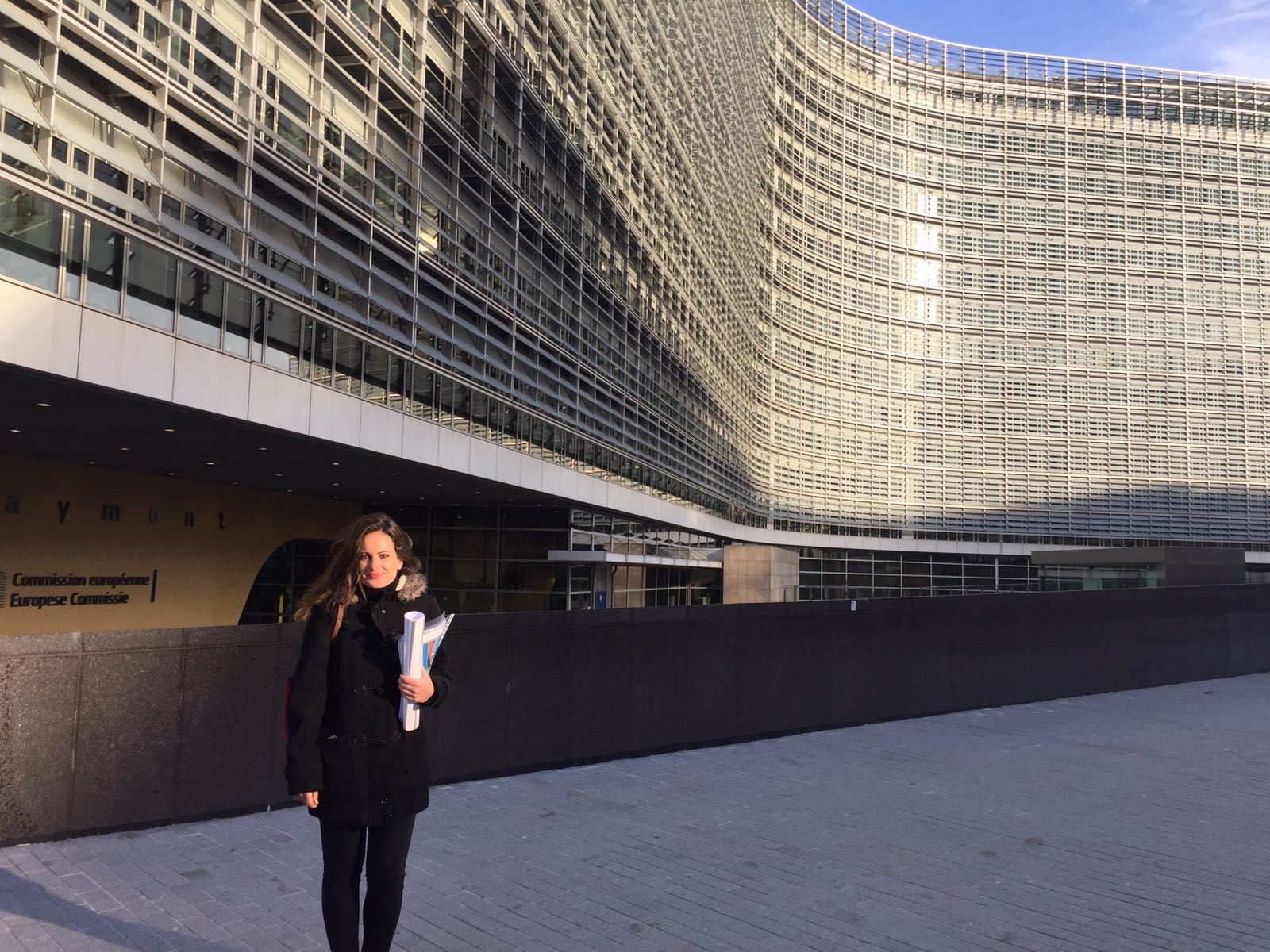 Laura Garau Contreras (pictured) will assume the management of the new ANPIER office in Brussels. Credit: ANPIER