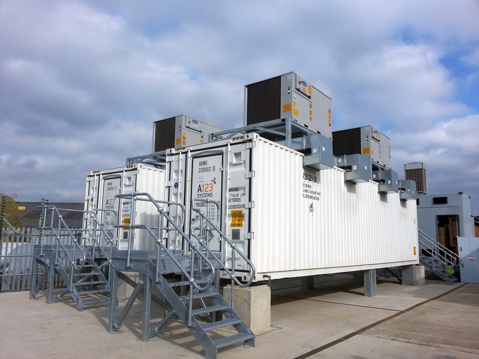 The multiple applications for large-scale energy storage are beginning to be tapped in European countries Credit: NEC Energy Solutions