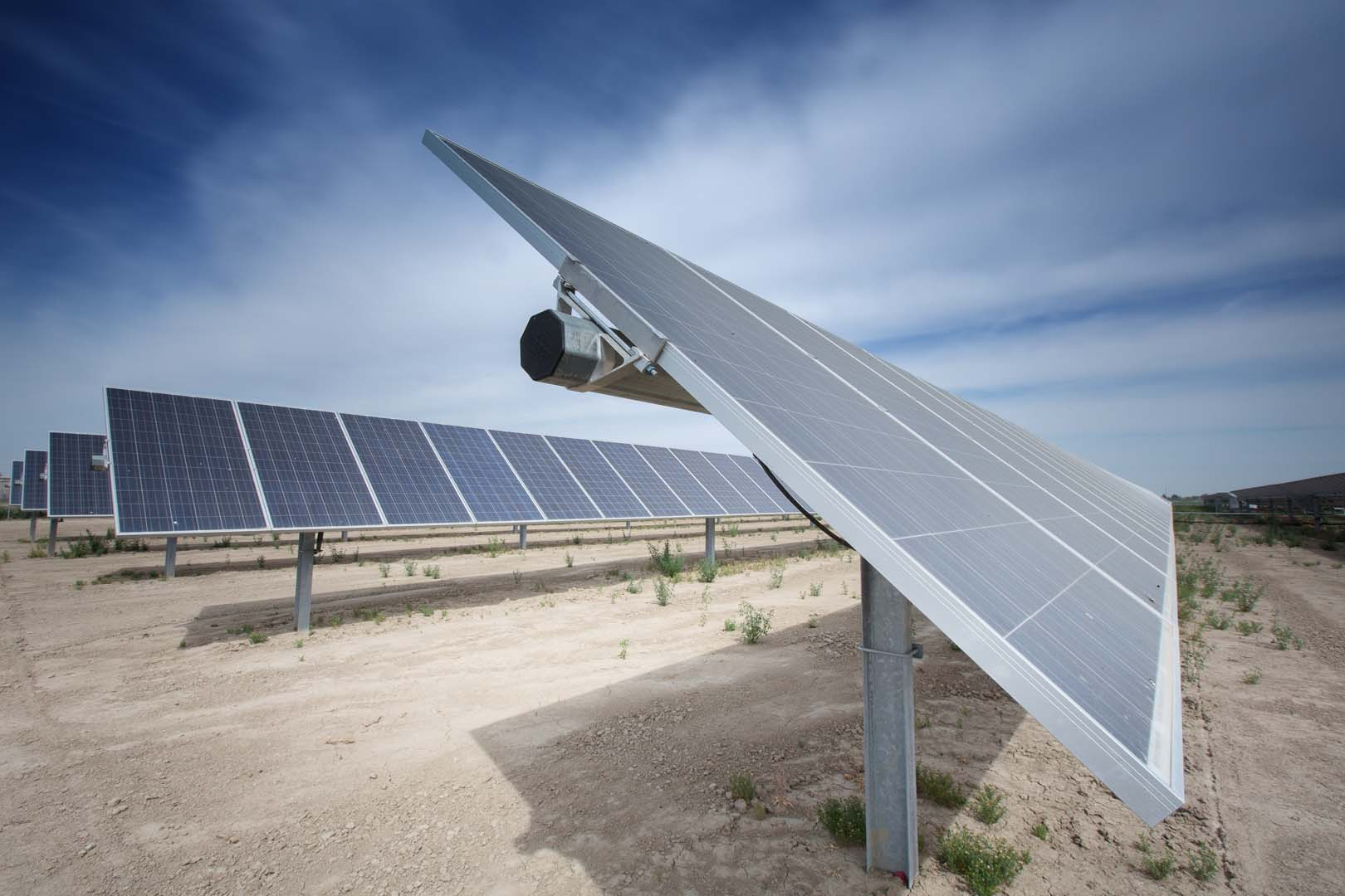 The project will be Lighthouse Infrastructure's second utility-scale Solar PV investment. Credit: Lighthouse