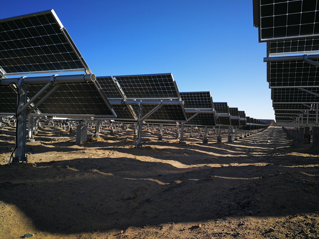LONGi said that it would invest US$309 million, including around US$240 million in constructing a new facility with an initial nameplate capacity of 1,000MW of monocrystalline solar cells and expand its mothballed 500MW module assembly plant to 1GW. Image: LONGi Solar Bifacial plant China.