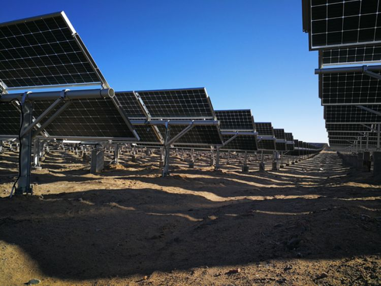 Unrelated to COVID-19, BNEF also noted that new PV support mechanisms recently announced in China could push some 2020 PV demand in to 2021. Image: LONGi Solar