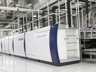 The company noted that the new follow-on orders from the two customers for its MAiA 2.1 PERC cell technology platform combined with previous orders from the same companies accounted for more than 7GW of PERC capacity valued at around CHF 120 million (US$123.4 million). Image: Meyer Burger