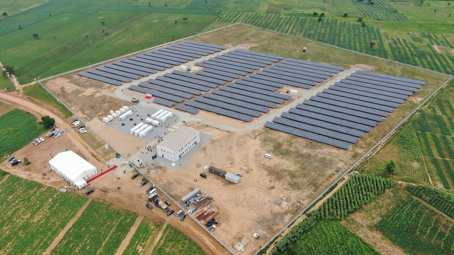 3.5MWp of solar PV, 8.1MWh of battery energy storage and 2.4MW of backup generators will supply more than 55,000 students, 3,000 staff and nearly 3,000 streetlights at BUK. Image: METKA.
