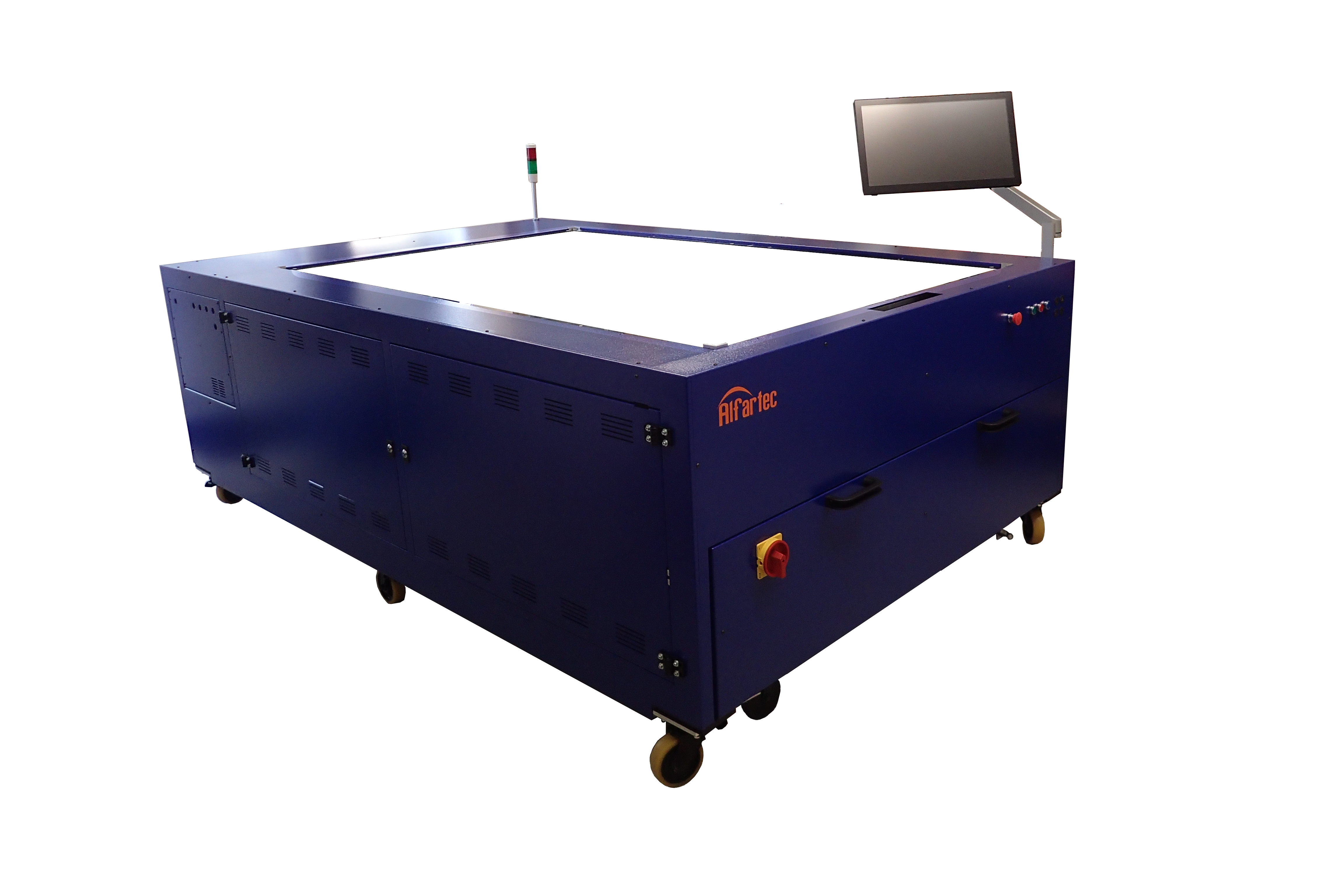 Swiss-based solar simulator equipment supplier Alfartec has had its new generation of module tester, BlueSky MT240 certified by China's 3rd party lab, NIM at a 'Silicon Module Super League' (SMSL) member at a c-Si module manufacturing plant in China. Image: Alfartec