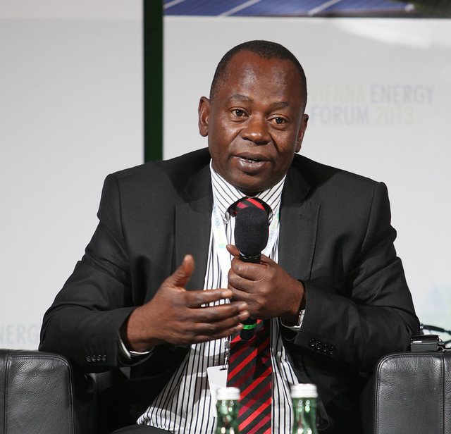 Mahama Kappia says there is much more awareness of climate issues in the region. Flickr: Vienna Energy Forum