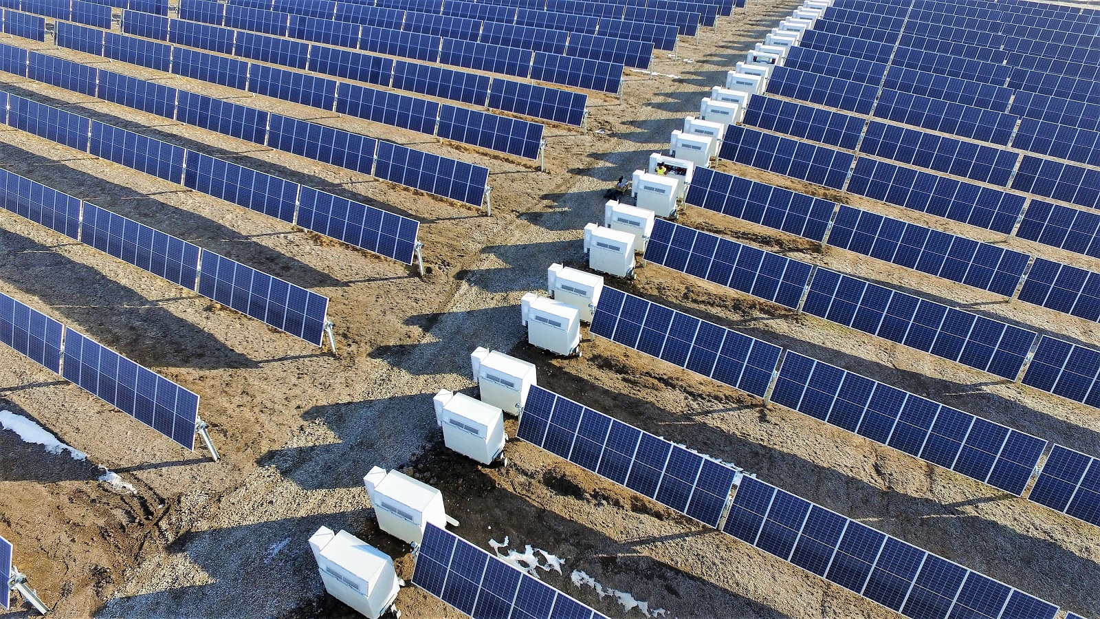 The combination of large-format panels with trackers will pose some challenges for PV system designers. Image Credit: Nextracker