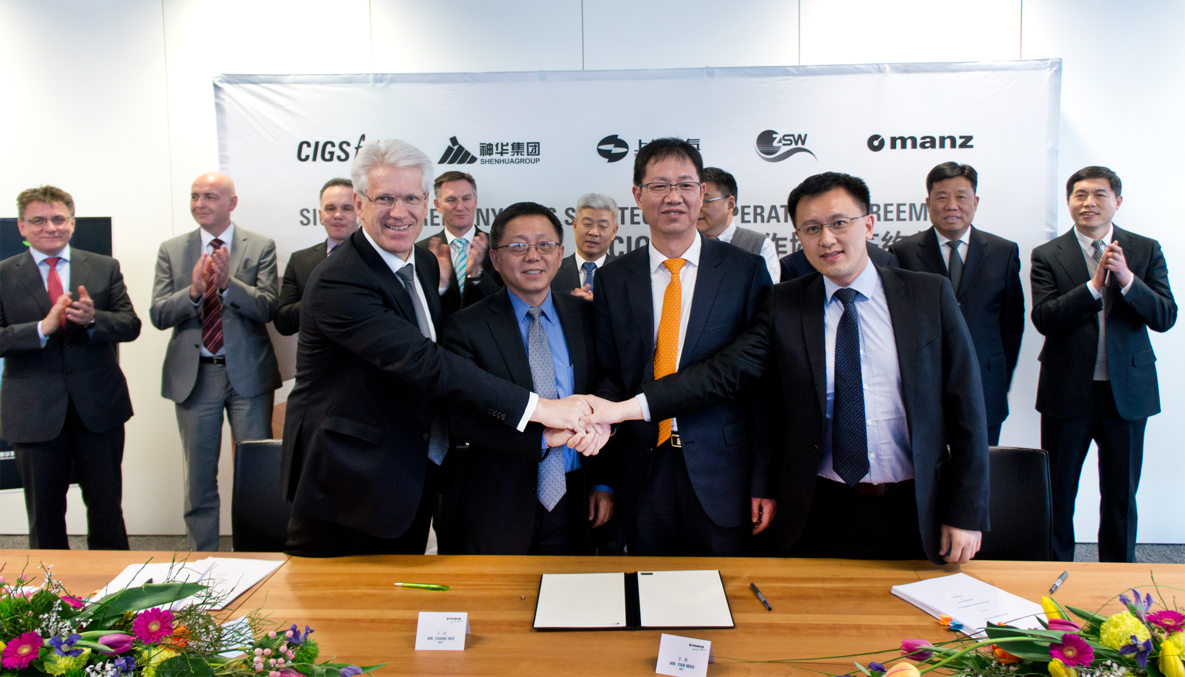 Manz said that the orders amounted to €263 million (US$282.22 million), which included a CIGS production line with a capacity of 306MW and another one for a CIGS R&D line with a nameplate capacity of 44MW. Image: Manz AG