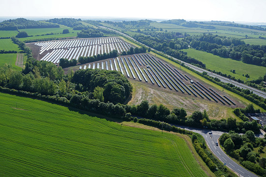 Solar deployment in the UK topped almost 4GW in the 2015. Image: Martifer Solar.