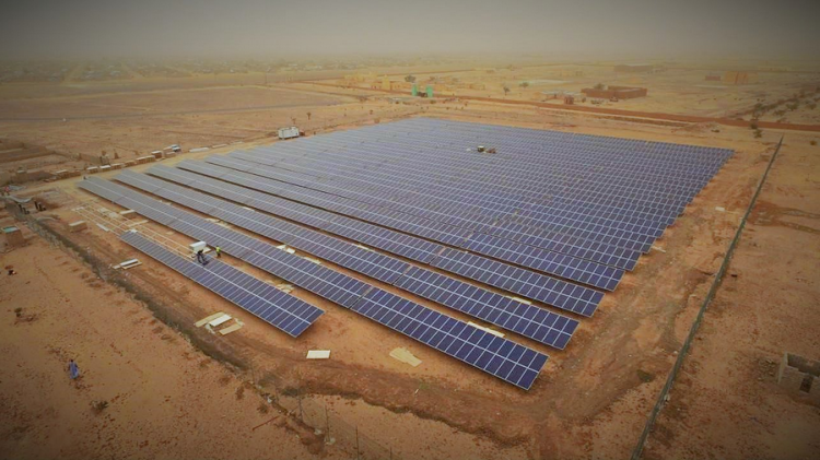 The first section of the 800MW phase is expected to be completed by April 2018. Image: Masdar