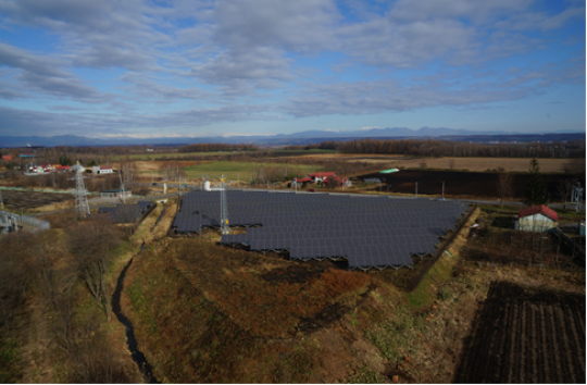 Regional power companies have the right to curtail output from PV plants for up to 360 hours a year, uncompensated, under teh most recent FiT rules. Image: Marubeni.
