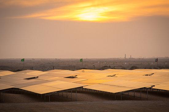A Masdar project in Mauritania. Source: Masdar.