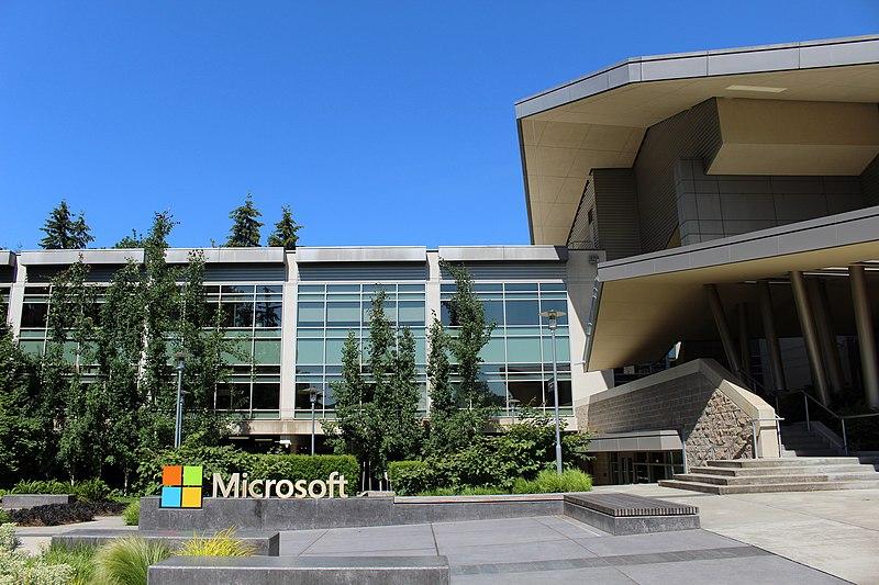 Microsoft HQ in Richmond, Washington. Image: Wikimedia Commons / Coolcaesar