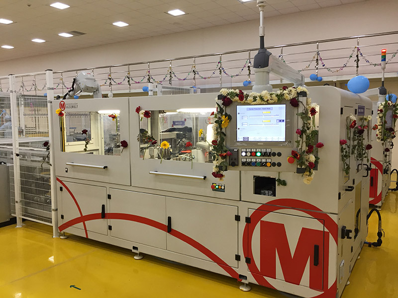 Specialist automation and PV module assembly solutions provider, Mondragon Assembly has struck a deal with Korean equipment supplier, STiN for its 'continuous stringing' intellectual property (IP). Image: Mondragon