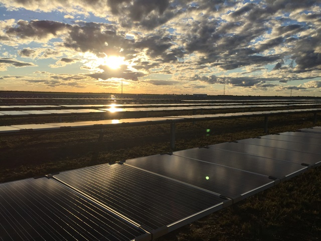 The Moree Solar farm, backed by the CEFC.