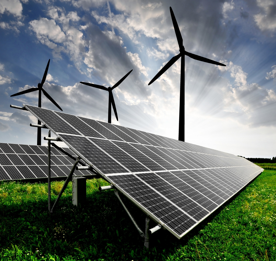 The tender is for the development of the wind and solar project with 10 years of operations and maintenance. Credit: NEC