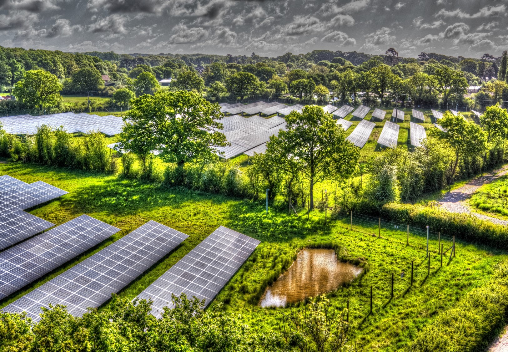 UK investor Next Energy Solar Fund energised one of the UK's first subsidy-free solar farms last year (pictured) and has plans to complete more this year. Image: NESF.