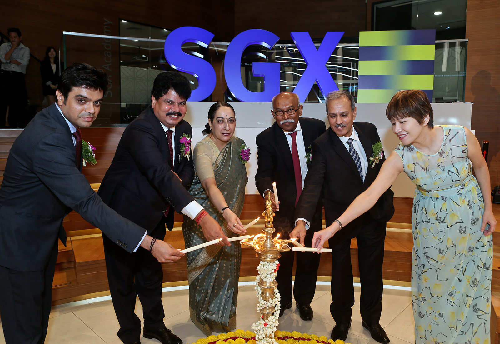 The state-owned utility also listed Green Masala Bonds on the Singapore Stock Exchange. Credit: NTPC