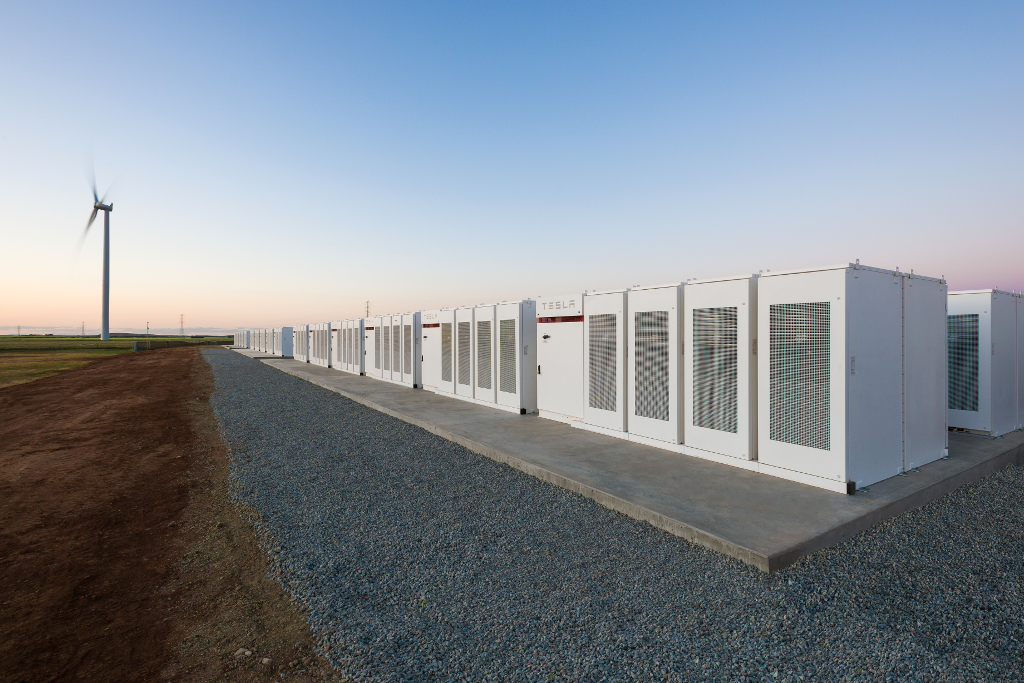 Neoen's battery storage unit at the Hornsdale renewables facility in Australia. Image: Neoen.