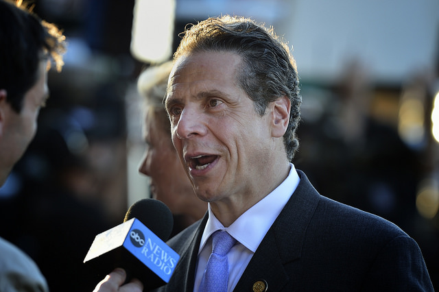 Democratic governor Aundrew Cuomo is a long-term supporter of clean energy and renewables. Source: Flickr/Diana Robinson