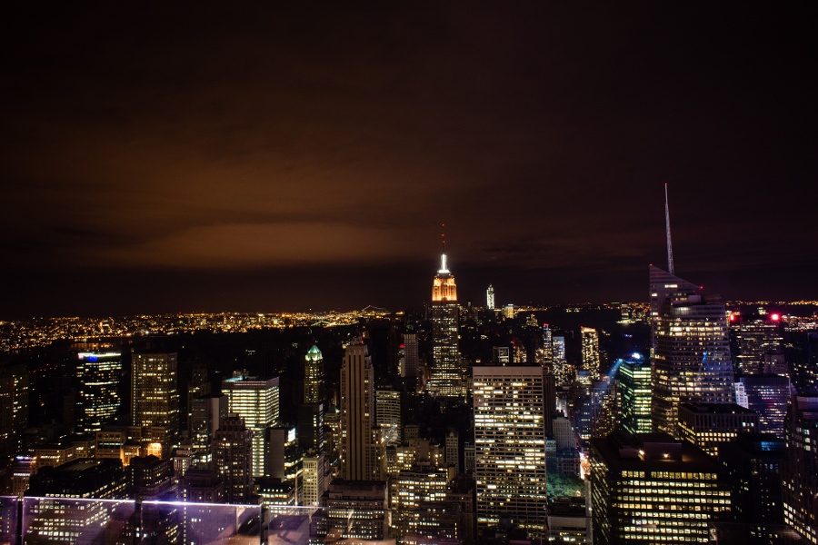 A blackout in New York caused by a major storm. Image: wiki user Dan Nguyen.