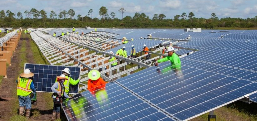The market research firm noted that the three leading EPC firms in 2018, Sterling and Wilson, TBEA Xinjiang Sunoasis and Sungrow Power Supply Co had global market shares of 2.9%, 1.6% and 1.3%, respectively. Image: NextEra