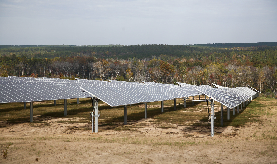 The Shaw Creek Solar Energy Center is now powering customers in South Carolina. Credit: NextEra