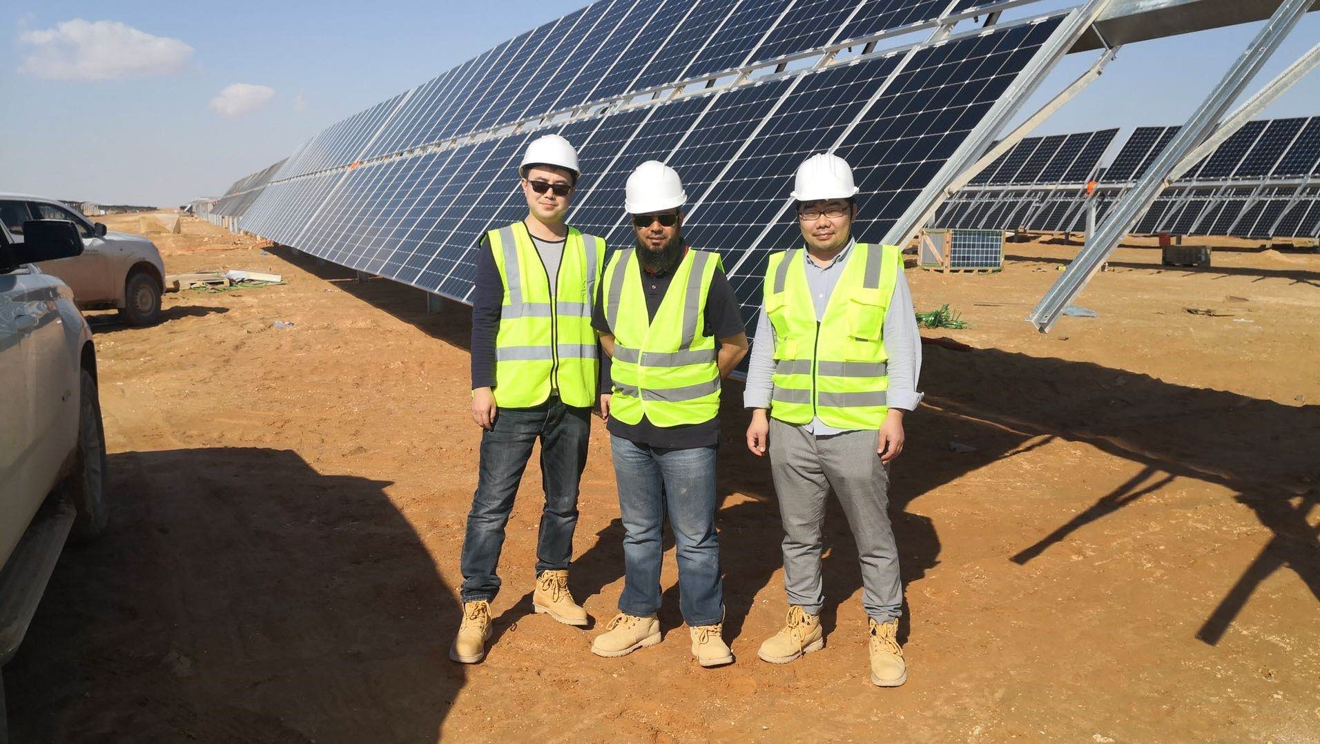 Exclusively powered by Jolywood modules, the Oman project is considered to be the largest single N-type PV power plant in the world. Image credit: Jolywood