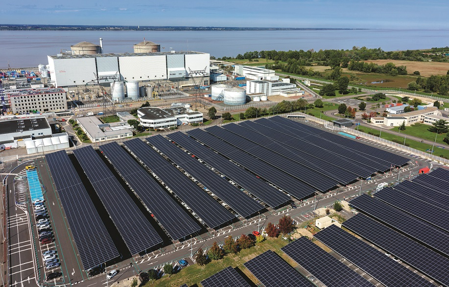 One of Tenergie's solar projects. The French IPP owns assets that could be affected by the proposed tariff changes. Image: Tenergie.