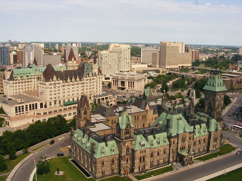 Ottawa, Canada's capital. Source: Flickr, Abdallahh