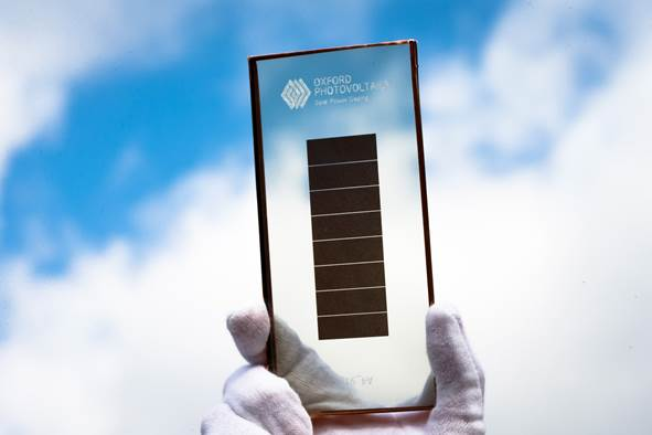 The latest funding was led by Statoil ASA, Legal & General Capital and an unidentified technology-focused, family fund investor. Image: Oxford PV
