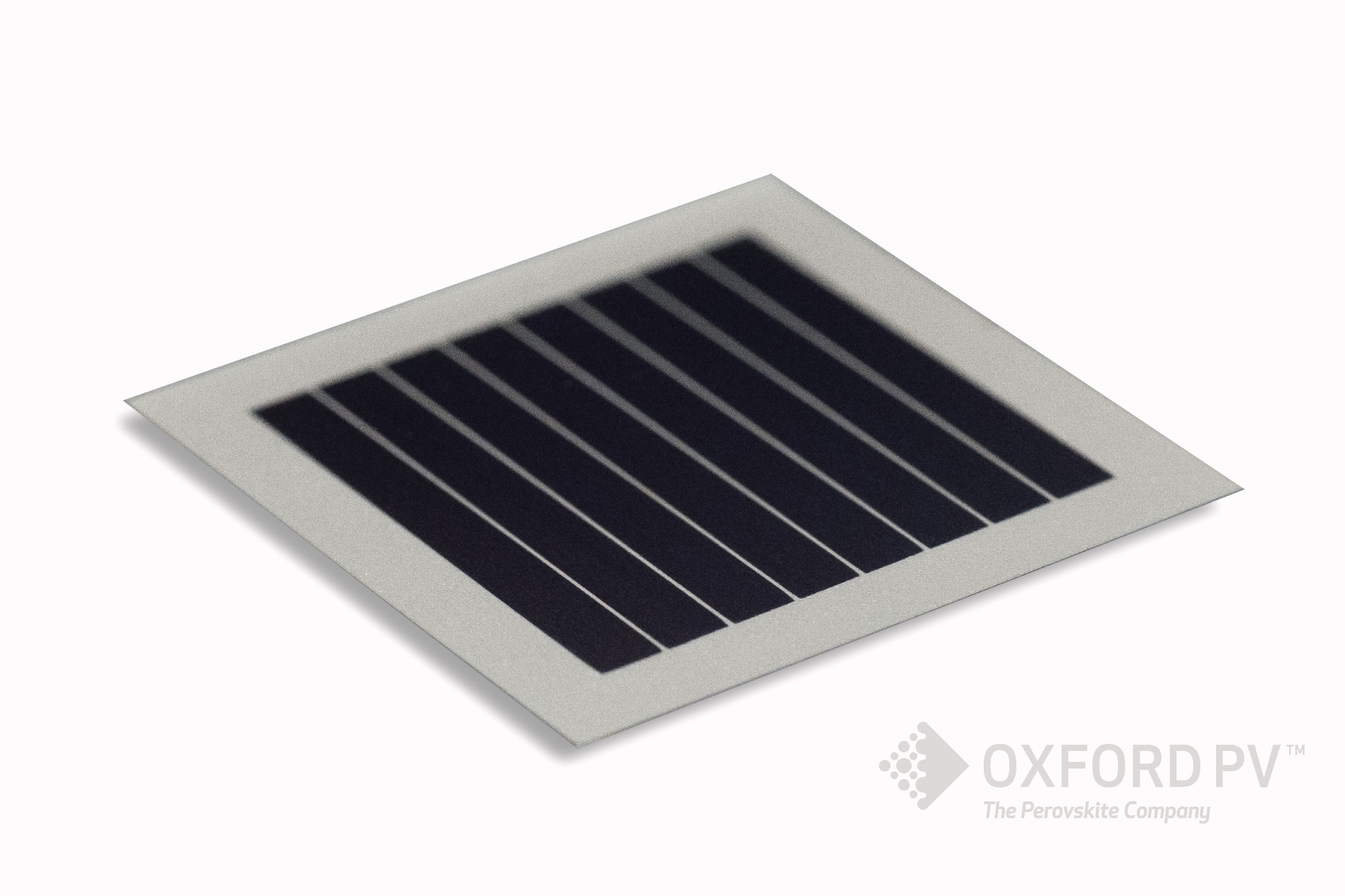 Oxford PV in late December, 2018 indicate that perovskite-silicon tandem cells are rapidly approaching efficiencies of 30% and more when the US National Renewable Energy Laboratory certified Oxford PV's 1 cm2 tandem cell with a 28% conversion efficiency, up from Oxford PV's own previous certified record of 27.3%. Image: Oxford PV